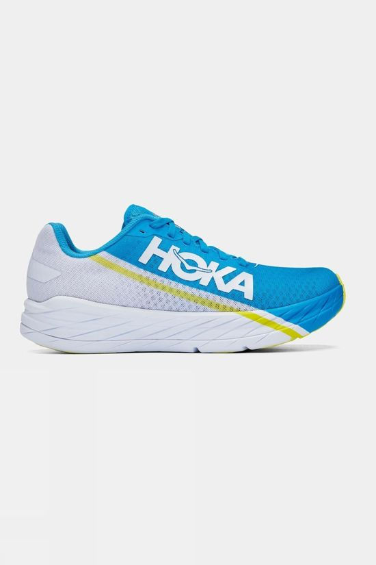 Hoka One One Rocket X White/Diva Blue