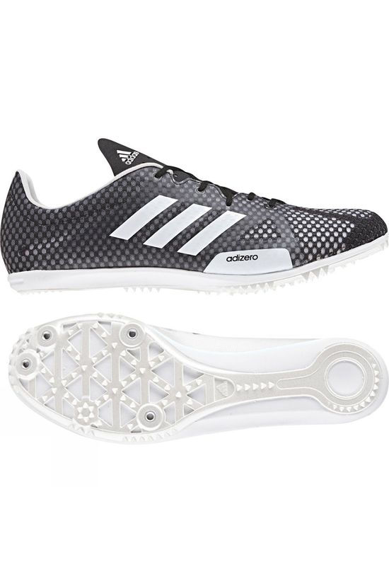 Adidas Mens Adizero Ambition 4 Spikes Core Black / Ftwr White / Hi-Res Orange S18