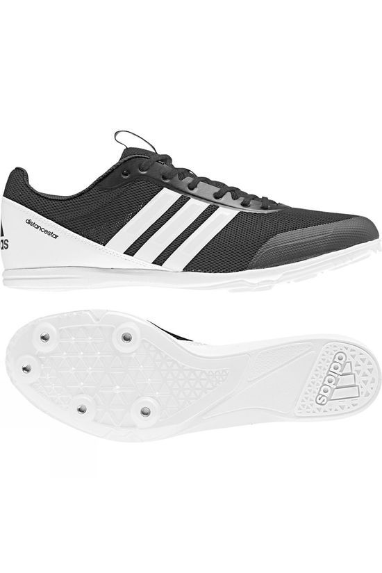 Adidas Mens Distancestar Spikes Core Black / Ftwr White / Ftwr White