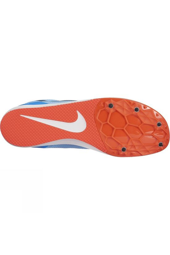 Nike Unisex Zoom Rival D 10 Track Spike Football Blue/Blue Fox-Bright Crimson