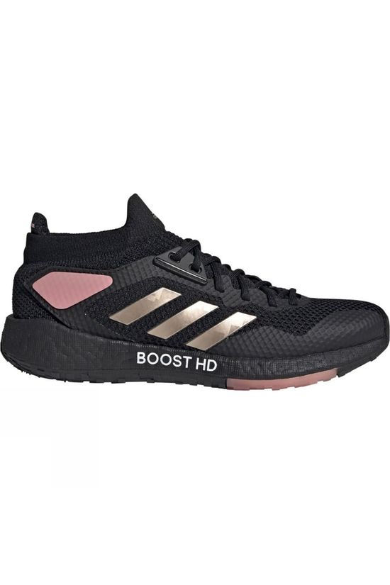 Adidas Womens Pulseboost HD Core Black/Copper Metallic/Glow Pink