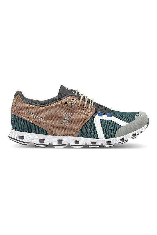 On Women's Cloud 70/30 Mocha/Evergreen