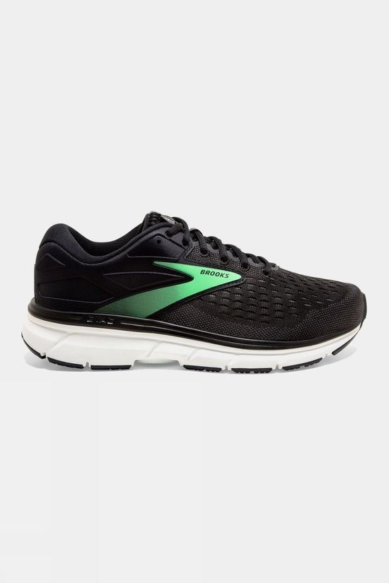 Brooks Womens Dyad 11 Black/Ebony/Green