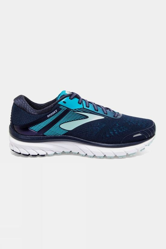 Brooks Womens Defyance 11 Navy/Teal/White