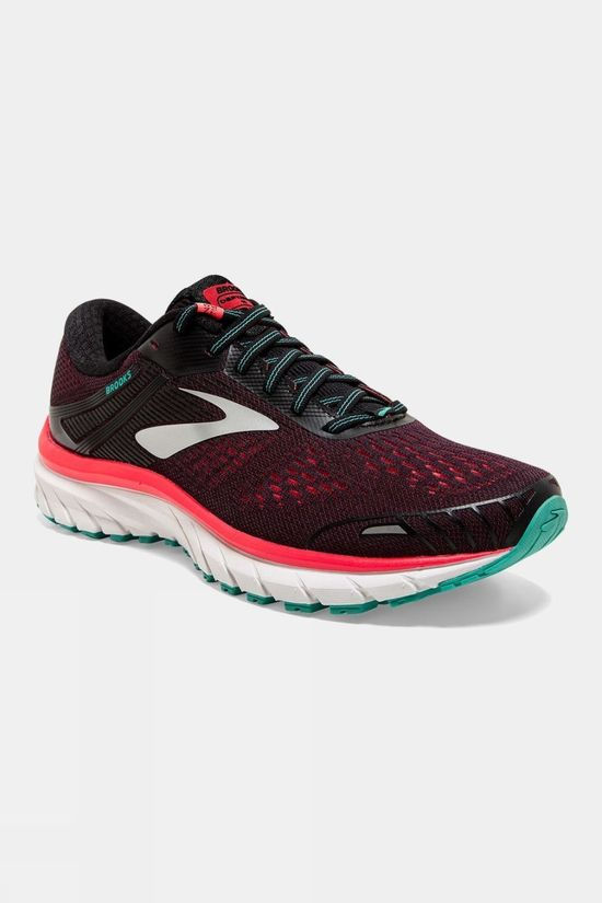 Brooks Womens Defyance 11 Black/Pink/Green