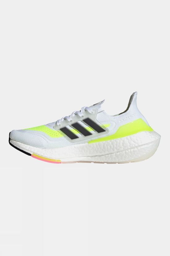 Adidas Womens Ultraboost 21 White/Yellow