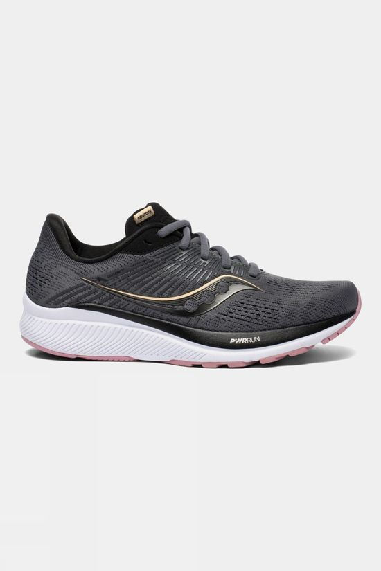 Saucony Womens Guide 14 Charcoal / Rose