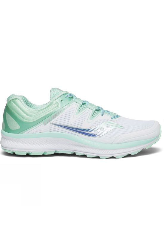 Saucony Womens Guide ISO White / Aqua