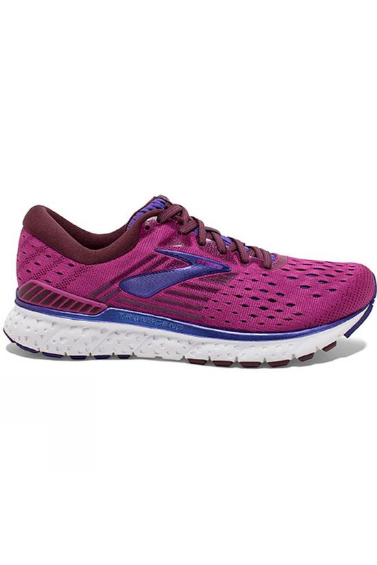 Brooks Womens Transcend 6 Aster/Fig/Purple