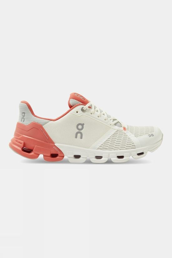 On Women's Cloudflyer White | Coral