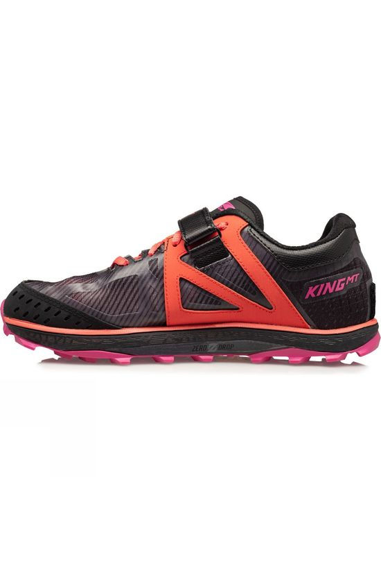 Altra Womens King MT 2 Black/Coral/Pink
