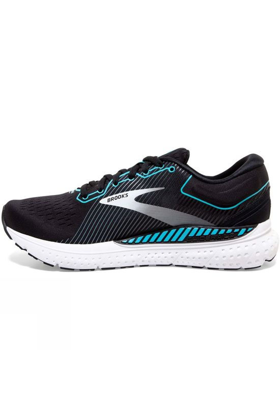 Brooks Women's Transcend 7 Black/Ebony/Blue Bird