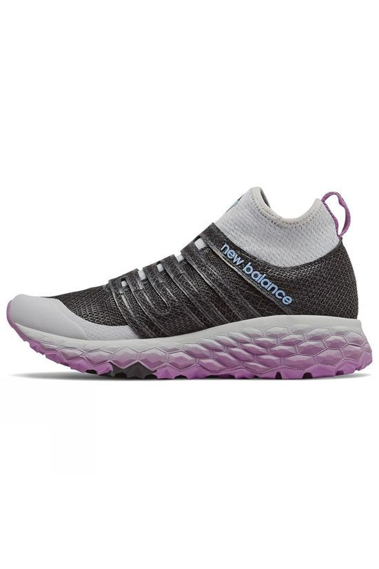 New Balance Womens Hierro BOA BLACK/Purple
