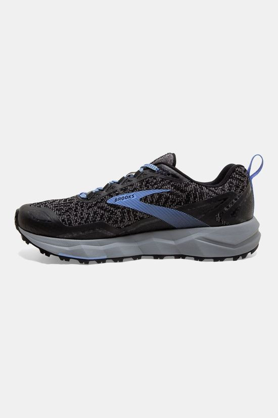 Brooks Women's Divide Grey/Black/Cornflower Blue
