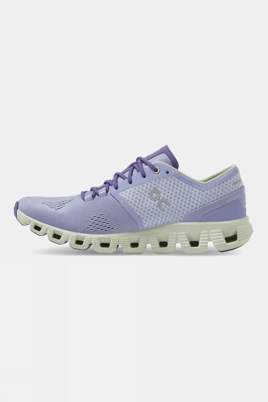 On Women's Cloud X Lavender | Ice