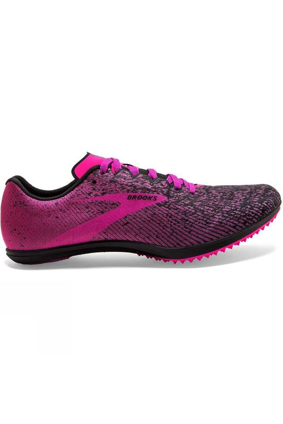 Brooks Women's Mach 19 Spikeless Black/Hollyhock/Pink