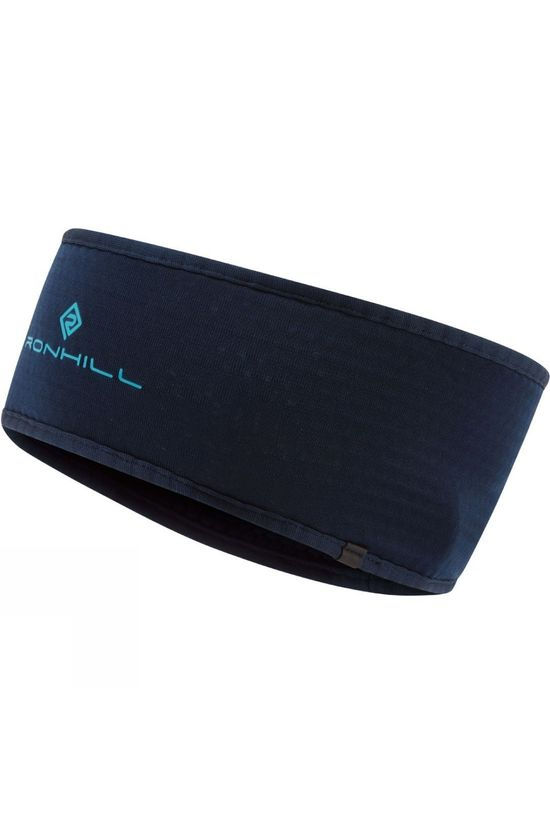 Ronhill Matrix Headband Deep Navy/Spa Green