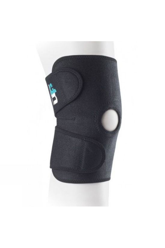 Ultimate Performance Support Open Patella Knee Support Black