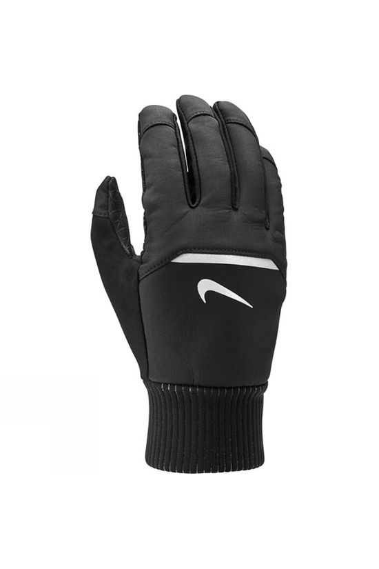 Nike Men's Shield Running Gloves Black/Wolf Grey/Silver
