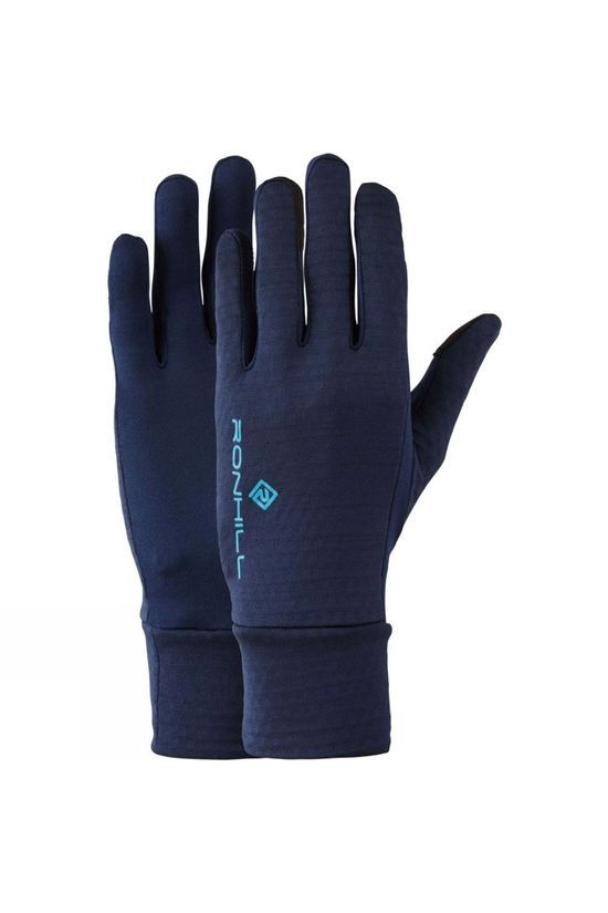 Ronhill Matrix Run Glove Deep Navy/Spa Green