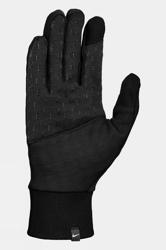 Nike Mens Sphere Running Gloves 3.0 Black/Black/Silver