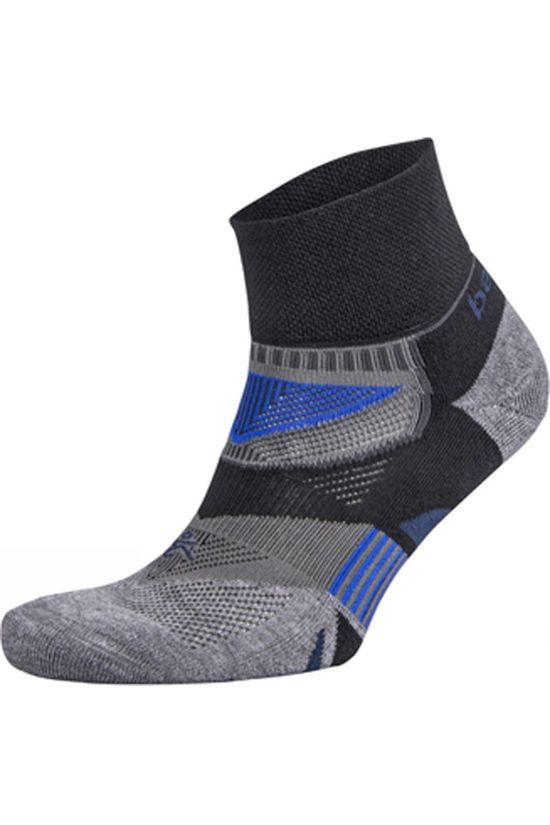 Balega  Enduro V-Tech Quarter Socks Black/Charcoal
