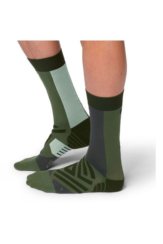 On Men's High Sock Forest/Moss