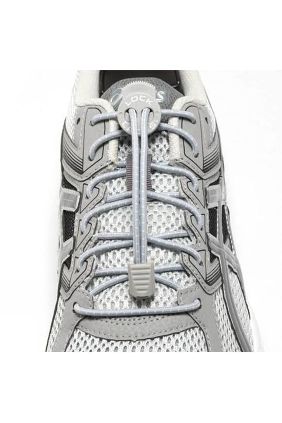 Nathan Run Lock Laces Cool Grey Cool Grey