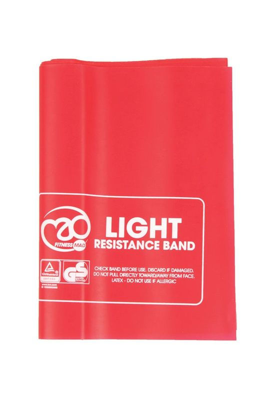 Fitness Mad Resistance Band Light (band only) Red