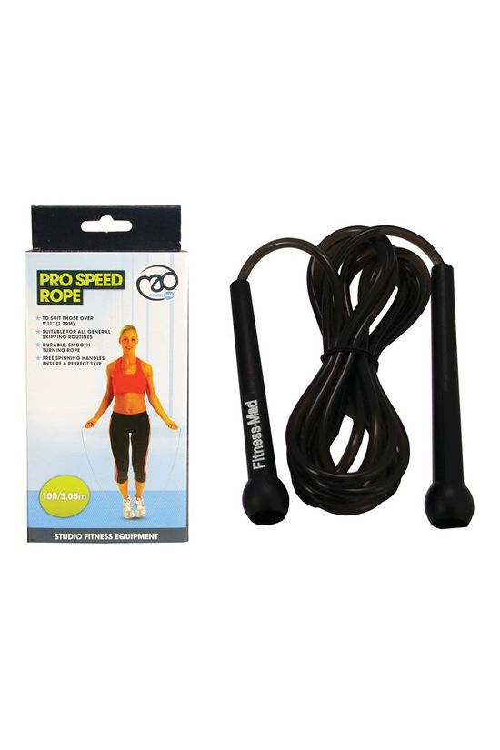 Fitness Mad Speed Rope 10 Foot Black