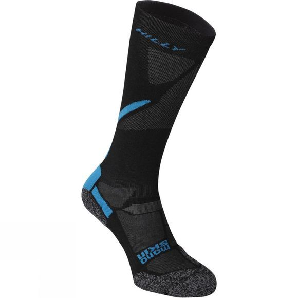 Hilly Energize Compression Sock Black / Electric Blue