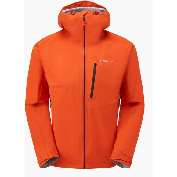 Montane Mens Fleet Jacket Firefly Orange/Black