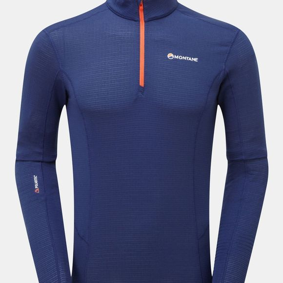 Montane Mens Allez Micro Pull-On Fleece Antarctic Blue