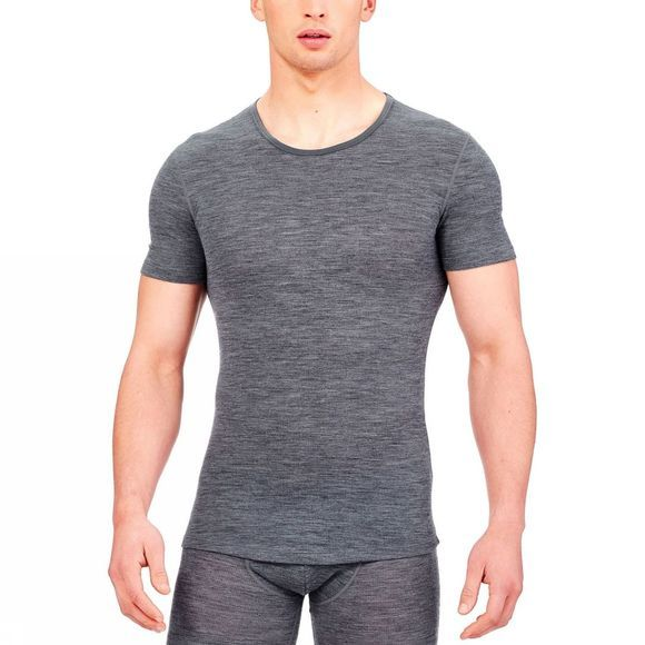 Mens Anatomica Rib Short Sleeve Crewe