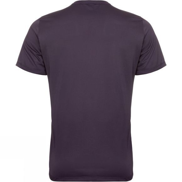 Odlo Mens Element Light Print T-Shirt Nightshade - Placed Print FW19
