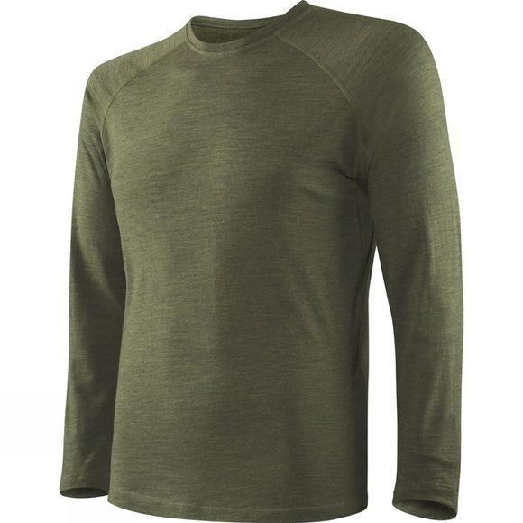 Saxx Mens Blacksheep 2.0 Long Sleeve Top Olive Heather