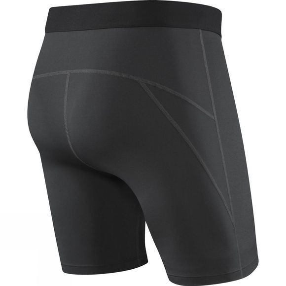 Saxx Mens Thermo-Flyte Long Leg Boxers with Fly Black
