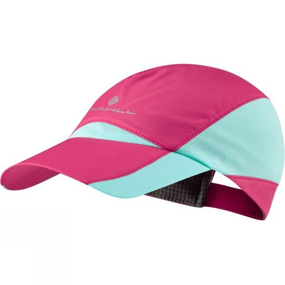 Ronhill Windlite Cap Mid Pink/Turquoise