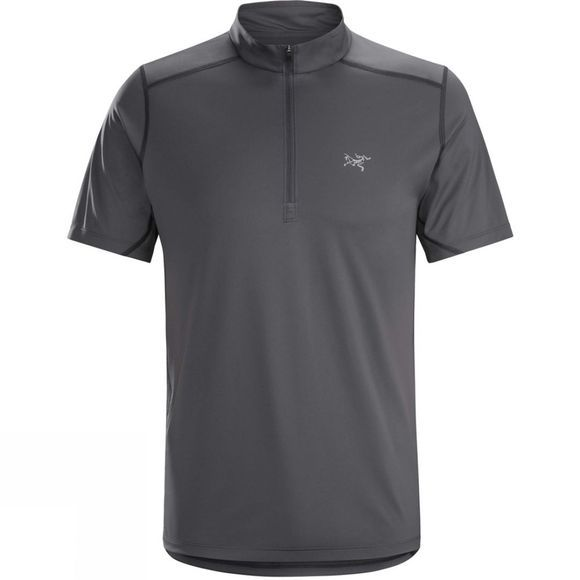 Arc'teryx Mens Accelero Comp Zip Neck Top Pilot