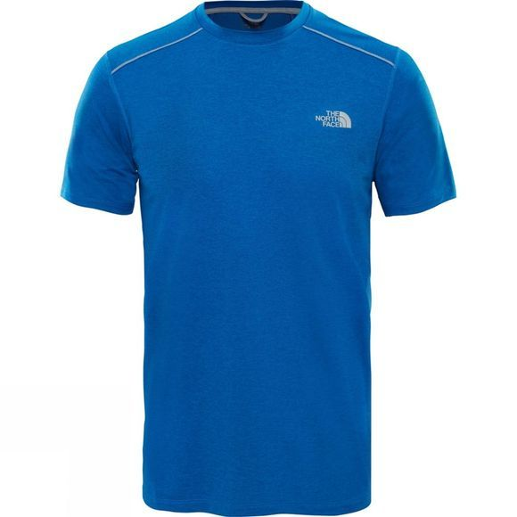 The North Face Mens 24/7 Tech Short Sleeve Top Turkish Sea Heather