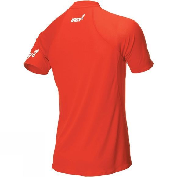 Inov-8 Mens AT/C Base Short Sleeve Top Red