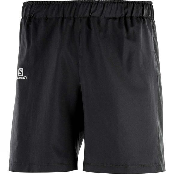 "Salomon Mens Agile 7"" Shorts Black"