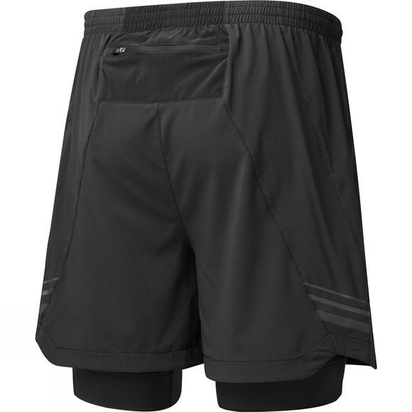 Ronhill Mens Stride Twin 5in Short  Black