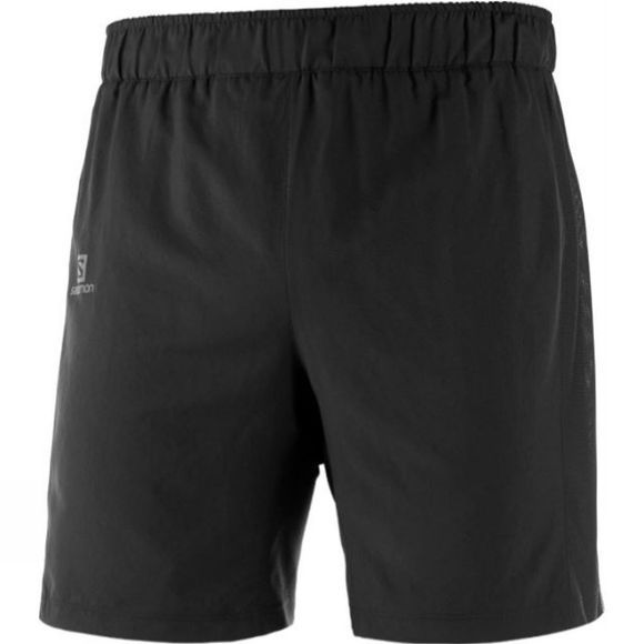 Salomon Mens Agile 2 in 1 Black Short Black