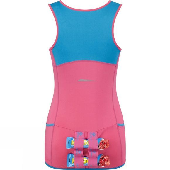 Ronhill Women's Trail Cargo Tank Rose/Sky Blue