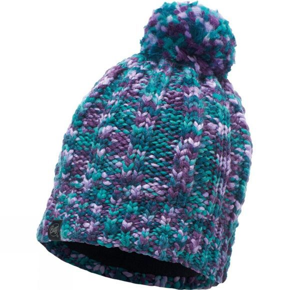 Buff Livy Knitted Hat Turquoise