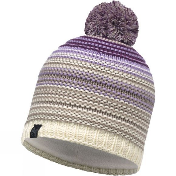 Buff Neper Knitted Hat Violet Cru