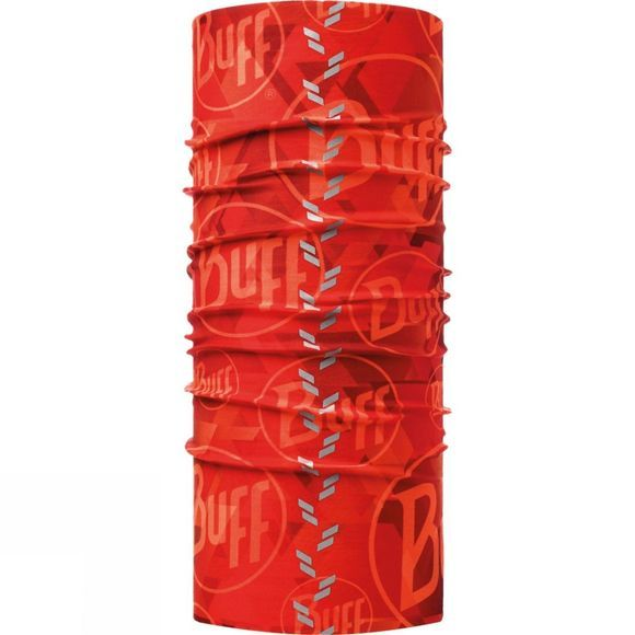Buff Reflective Buff R-Tip Logo Orange Fluor