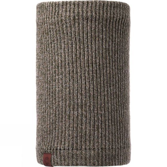 Buff Lyne Neckwarmer Brown Taupe