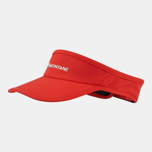 Montane Via Visor Flag Red